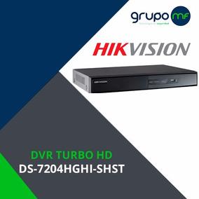 Dvr Hikvision 4 Canales Grabadora Cámaras Hd Tvi Cctv Hdmi!!
