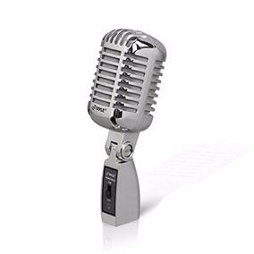 Pyle Pd Micr42bk Microfono Dinamico Vintage Estilo Retro
