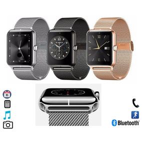 Smartwatch Reloj Celular Inteligente Metalico Bluetooth Sim