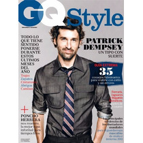 Revista Gq Style Patrick Dempsey Mexico Otoño Invierno 2011