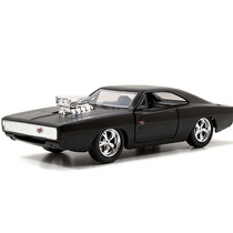 Fast And Furious Dodge Charger R/t 1970 Primer Black 1:32