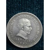 Moneda Uruguay 1953/ 5 Cent/ Ref P5-19