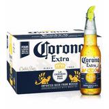 Kit Cerveja Corona Extra - Caixa 24 Unidades 355ml.