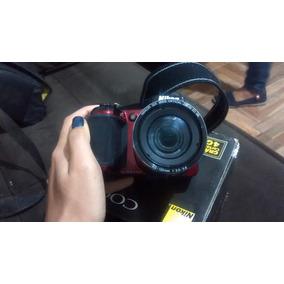 Câmera Fotográfica Semi Profissional Nikon Com Bolsa