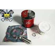 Pistão Kit C/ Anéis Dafra Apache 150 Vini 0,50 + Jg Juntas
