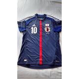 Camisa Original Japão Camisa Seleção Japonesa Nakamura #10