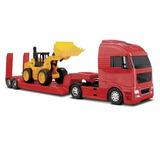 Mini Caminhão E Trator Brinquedo Bitrem Volvo Man Scania