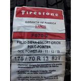 ( 2 Cubiertas) Firestone 175 / 70 R 13 82 T Nuevas
