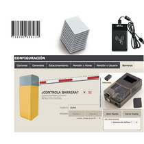 Kit De Estacionamiento Pensiones Con Control Barreras Plumas