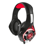 Audifono Gamer Trust Gxt 313 Nero Iluminated Negro