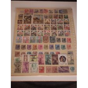Selos Postais Antigos - Lote Com 94 Selos Da Itália.