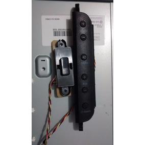 Sensor Remoto E Teclado Tv Philips 32pfl3404/78
