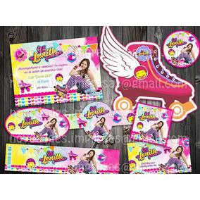 Kit Imprimible Soy Luna Fiesta Infantil Bolo Piñata Dulces