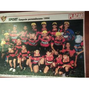 Poster Sport Recife Campeão Pernambucano 1994 Placar