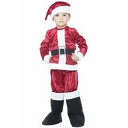 Disfraz De Santa Claus Para Niño Disfraz Navideño
