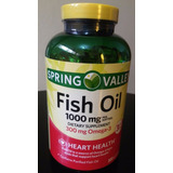 Omega 3 - 300 Capsulas Soft Gel Fish Oil Spring Valley