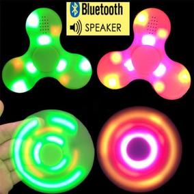Spinners Fidget Bluetooth Y Led! Anti-stress Anti-ansiedad