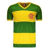 Camisa Retro Flamengo Verde Amarela - Camisas de Times em Santa ... c9512a49090e6