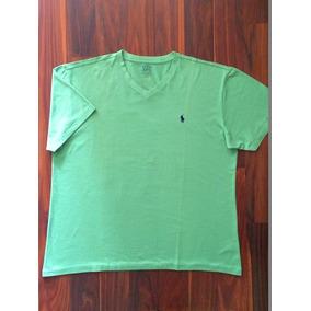 22250e8732 Camiseta Gola V Polo Ralph Lauren Nova Branca 2 Pack - Camisetas ...