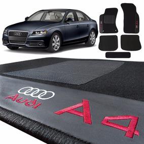 Jogo Kit Audi A4 Tapete Automotivo Carro 5 Pçs Hitto Carpete