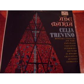 Lp Celia Treviño, Ave Maria, Disco Rojo,