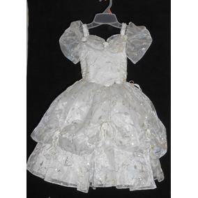 Precioso Vestido Fiesta Tipo Princesa Talla 3-4 Años