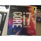 Procesador Intel I7 7700k 4.2 4.5ghz Lga1151 7ma Gen