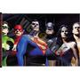 Liga Da Justiça - Pôster Fotográfico 30 X 45 Cm (#467)