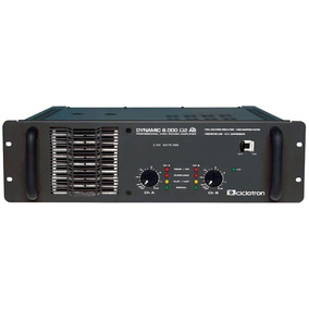 Ampli 2c 1000w Dynamic 8000 Ciclotron 12x S/jurosfretegrátis