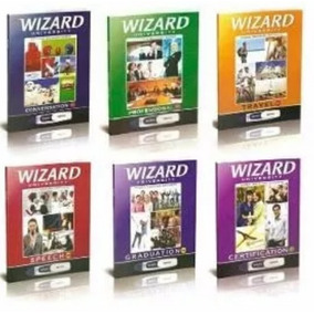 Livros Wizard Pdf W2 W4 W6 W8 W10 W12 + Mp3+ Homework