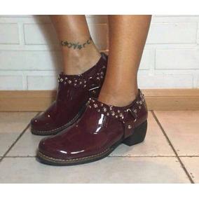 Zapatos Texana Mujer Con Tachas Varios Colores Oferta!!!!