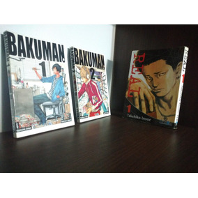 Lote Bakuman 1 Y 2 Más Real 1 Ivrea Regalados!!