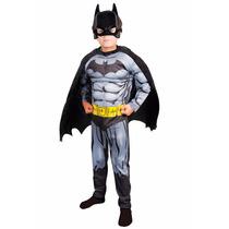 Disfraz Batman Con Musculos, Original Excelente