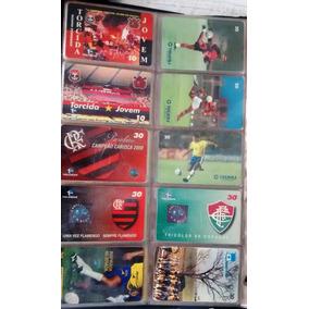 Coleção Cartões Telefônico Com 1640 Cartões.
