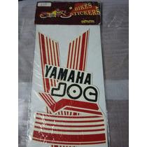 Kit Calco Yamaha Jog Gris/negro Y Rojo/negro En Paredesbiker