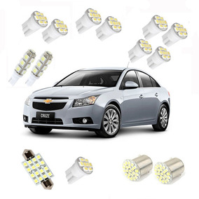 Kit Lampadas Led Chevrolet Cruze Sedan/hacth + Nf E