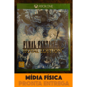 Final Fantasy Xv Royal Edition Xbox One Mídia Física Lacrado