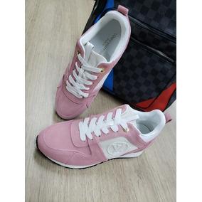 Nike Air Max 1 X Supreme X Louis Vuitton Dama · Tenis Zapatos Zapatillas Lv  Louis Vuitton Rosados Mujer 9e39a880c15