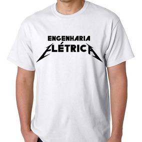 Camiseta Curso Blusa Engenharia Elétrica Camisa Faculdade