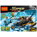 Decool Batman Robin Deathstroke Superhoroes Compatible Lego