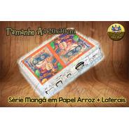 Papel De Arroz Comestível Mangá Naruto + Faixas Laterais