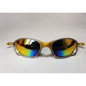 Oculos Oakley Juliet 24k Double Amarelo - Óculos De Sol no Mercado ... 3e93d9ba74