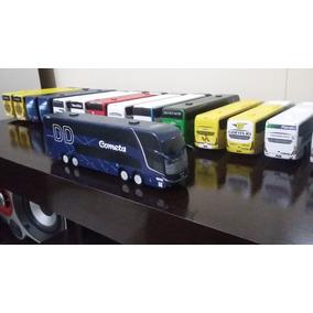Miniatura De Ônibus Marcopolo G7 Dd Artesanal Da Cometa