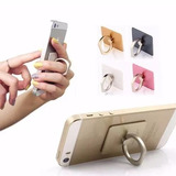 Suporte De Dedo Anel Para Iphone Iring Silver Celular Tablet