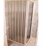 Mampara P/baño Plegable En Pvc!!! 0.85*1.85
