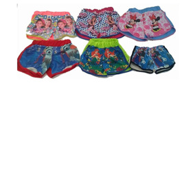 Kit 10 Short Menina Infantil Lindos Muito Barato Promoção