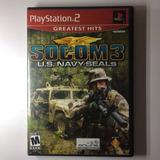 Socom 3 U.s. Navy Seals Playstation 2 Ps2