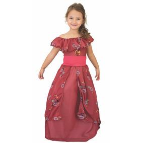 Disfraz Elena De Avalor Coronación Con Luz Newtoy