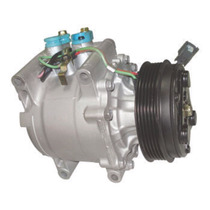 Compressor Trsa09 Honda Fit 03/08 Polia 5pk Novo
