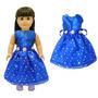 Disfraz Niño Ropa De La Muñeca - Azul Hermoso Del Vestido A
